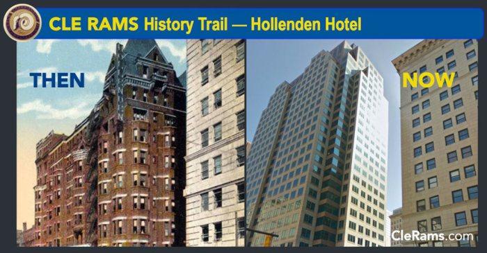 Cleveland Rams, Hollenden Hotel