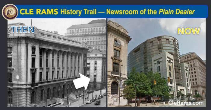 Cleveland Plain Dealer newsroom