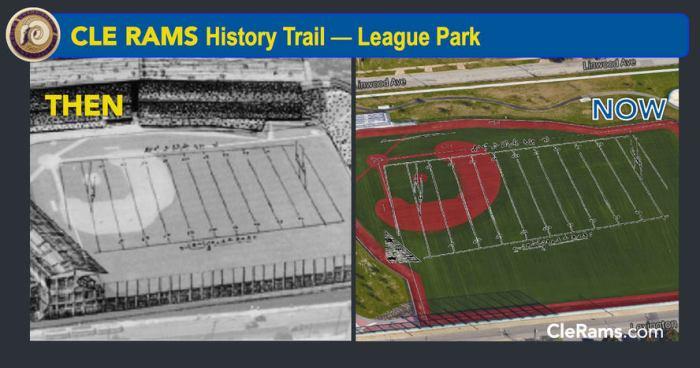 League Park, Cleveland Rams