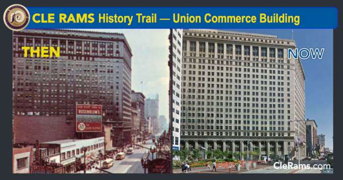 Rams Union Commerce Building Cleveland