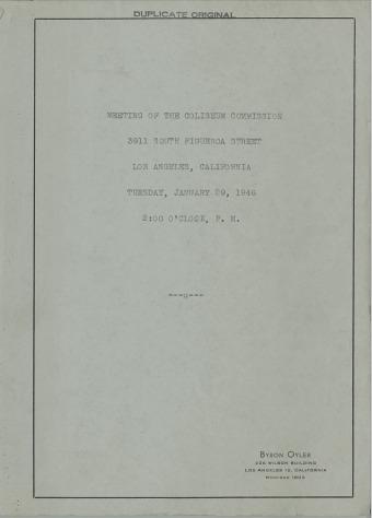 la-coliseum-commission-minutes