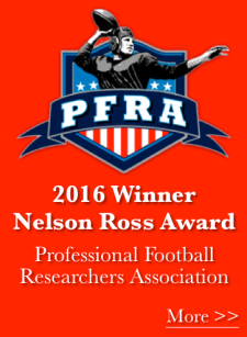 2016 Nelson Ross Award, The Cleveland Rams